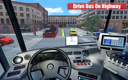 City Coach Bus Parking Drive pc screenshot 1