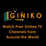Giniko TV - Watch Free TV for pc logo