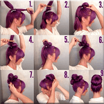 Girls Hairstyle Step by Step icon
