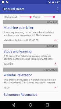 Binaural Beats pc screenshot 1