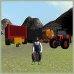 Farming 3D: Tractor Parking icon