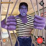Incredible Monster: Superhero Prison Escape Games for pc logo