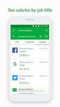 Glassdoor Job Search, Salaries & Reviews pc screenshot 2