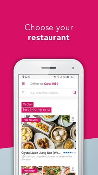 foodpanda - Local Food Delivery pc screenshot 1