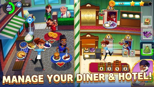 Diner DASH Adventures: a time management game pc screenshot 1