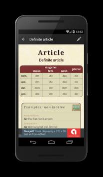 Deutsche Grammatik pc screenshot 1