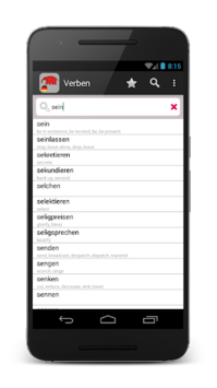 14000 German verbs pc screenshot 1