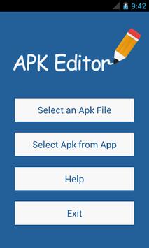 APK Editor pc screenshot 1