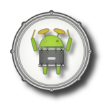 DroiDrum - a basic drum set icon