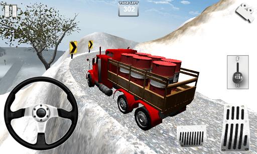 Truck Speed Driving 3D pc screenshot 1