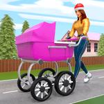Virtual Happy Family Mother Simulator: Family Life icon