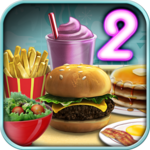 Burger Shop 2 – Crazy Cooking Game with Robots icon