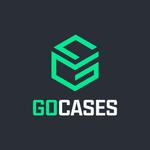GOCASES: Get CS GO skins & cases for Steam for pc logo