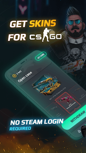 GOCASES: Get CS GO skins & cases for Steam pc screenshot 1