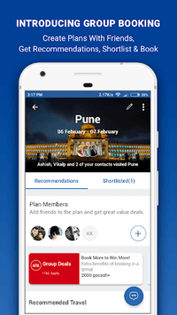 Goibibo - Flight Hotel Bus Car IRCTC Booking App pc screenshot 1