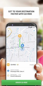 GOJEK - Ojek Taxi Booking, Delivery and Payment pc screenshot 1