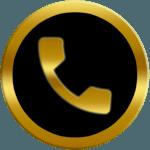 Free Gold Messenger icon