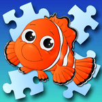 Jigsaw puzzles free games for kids and parents icon