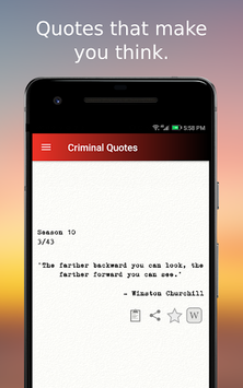 Criminal Quotes pc screenshot 1