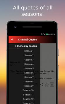 Criminal Quotes pc screenshot 2