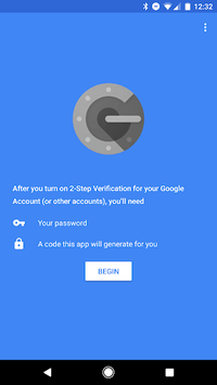 Google Authenticator pc screenshot 1