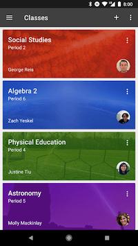 Google Classroom pc screenshot 1