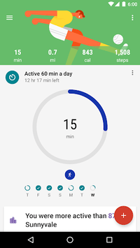Google Fit: Health and Activity Tracking pc screenshot 1