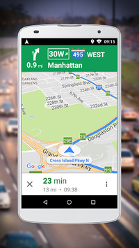 Navigation for Google Maps Go pc screenshot 1