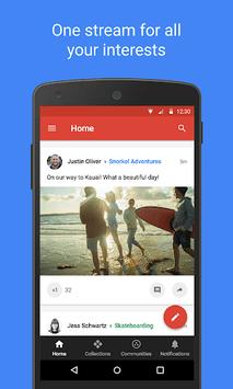 Google+ pc screenshot 1