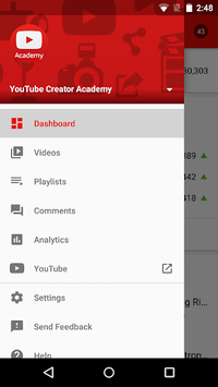 YouTube Studio pc screenshot 1