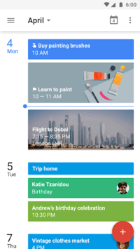 Google Calendar pc screenshot 1