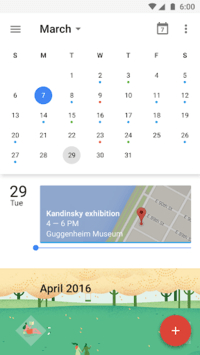 Google Calendar pc screenshot 2