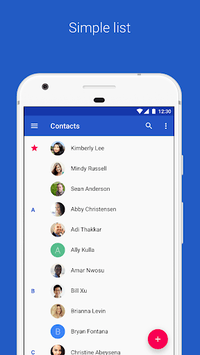 Contacts pc screenshot 1