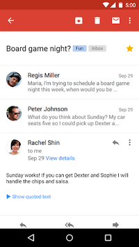 Gmail pc screenshot 1
