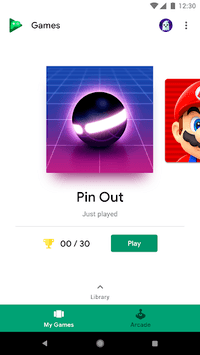 Google Play Games pc screenshot 1
