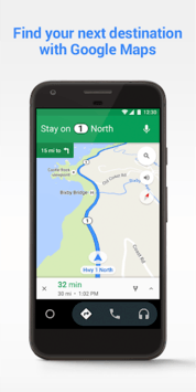 Android Auto - Google Maps, Media & Messaging pc screenshot 2