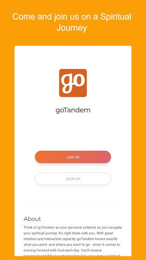 goTandem: Spiritual Growth App PC screenshot 1