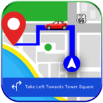 GPS, Maps, Navigations & Driving Directions icon