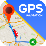 Maps GPS Navigation Route Directions Location Live for pc logo