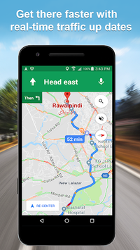 Maps GPS Navigation Route Directions Location Live pc screenshot 1