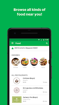 GrabFood - Food Delivery App pc screenshot 2