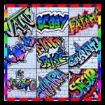 graffiti name creator icon
