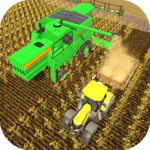 New Tractor Farming Simulator 3D - Farmer Story for pc logo
