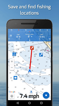Fishing Points: GPS, Tides & Fishing Forecast pc screenshot 1