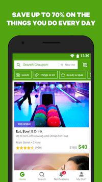 Groupon - Shop Deals, Discounts & Coupons pc screenshot 1
