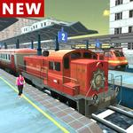 Real Indian Train Sim 2018 for pc logo