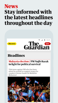 The Guardian: Top Stories, Breaking News & Opinion pc screenshot 1