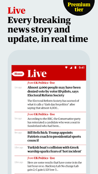 The Guardian: Top Stories, Breaking News & Opinion pc screenshot 2