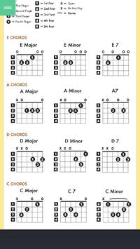 Basic Guitar Chord pc screenshot 1