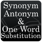 Synonyms, Antonyms & One Word Substitution icon